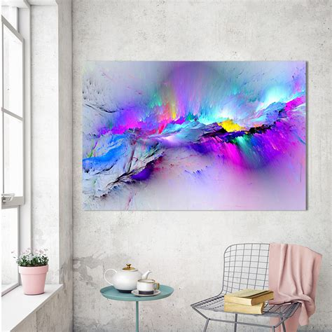 Hdartisan Oil Painting Wall Pictures For Living Room Home