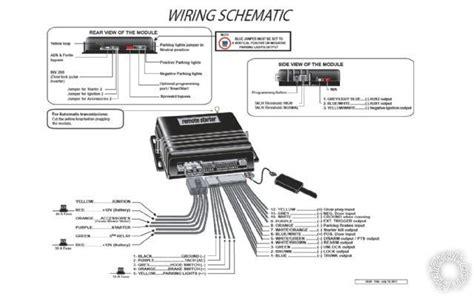 Auto Start Wiring Diagram Schematic