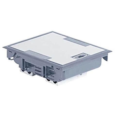 Boîte De Sol à équiper à Couvercle Inox, Hauteur 75 à