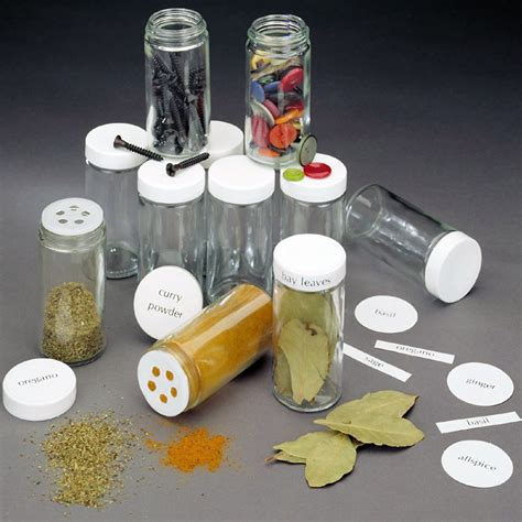 Glass Spice Bottles by Glass Spice Bottles 3 5 Ounce In Spice Containers