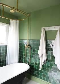 green bathroom tile ideas contemporary bathroom with green wall and green tiles