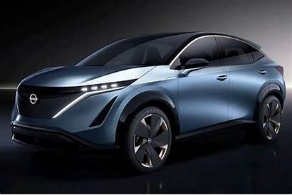 Teaser Nissan Ariya Production Concept Identical Hints
