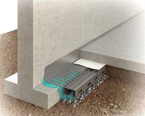 Basement Drain Tile System