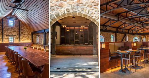 renovation   winery preserved  century  stone