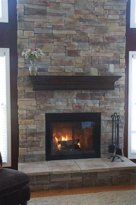 Faux Stone Fireplace Ideas Kvrivercom