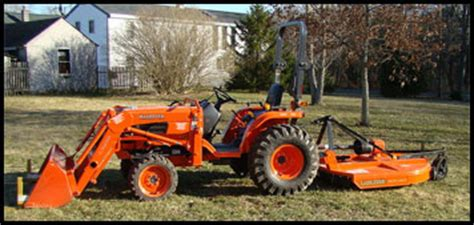 kubota  specifications attachments