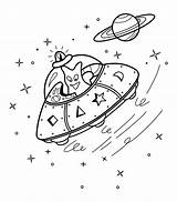 Alien Coloring Pages Ufo Activities Aliens Printable Spacecraft Kid Children Sheets Activity Space Books 4kids Via sketch template