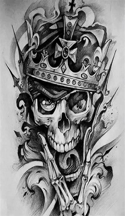 Skull King Wallpapers Queen Crown Backgrounds Zedge