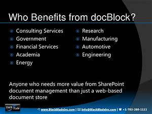 docblock ascend for sharepoint With sharepoint engineering document management