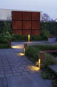 Lampen Für Garten : cortenstahl f r garten beleuchtung lampen gartenwegslv rusty slot 50 garten ~ Eleganceandgraceweddings.com Haus und Dekorationen