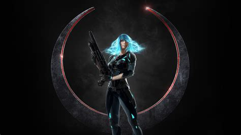 Nyx Quake Champions, Hd Games, 4k Wallpapers, Images, Backgrounds, Photos And Pictures