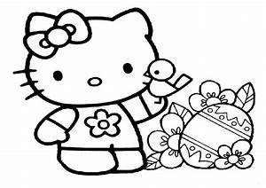 Ausmalbilder Hello Kitty Kostenlos Malvorlagen Zum