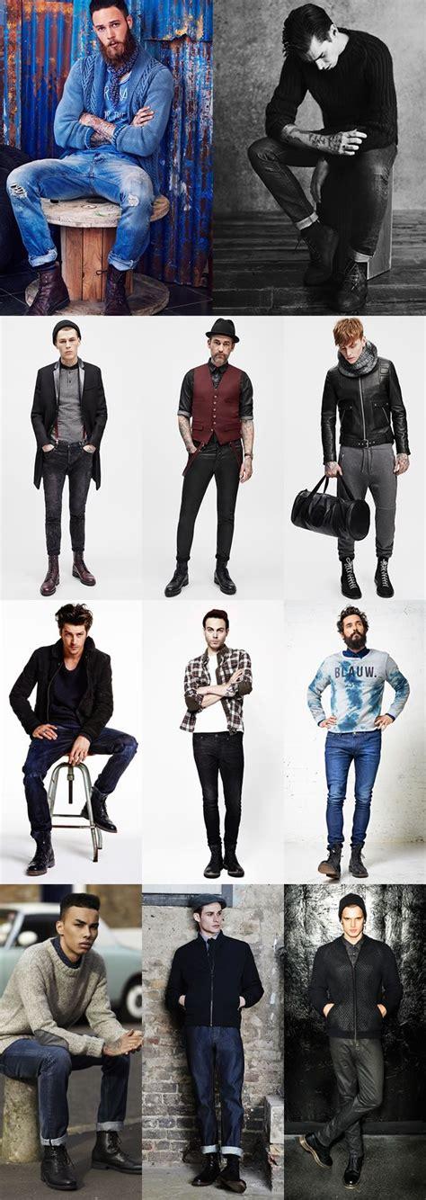 Men Autumn Winter Fashion Trend Punk Inspired