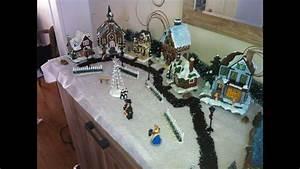 Maison De Noel Miniature : tuto comment realiser un village miniature de noel 2012 youtube ~ Nature-et-papiers.com Idées de Décoration
