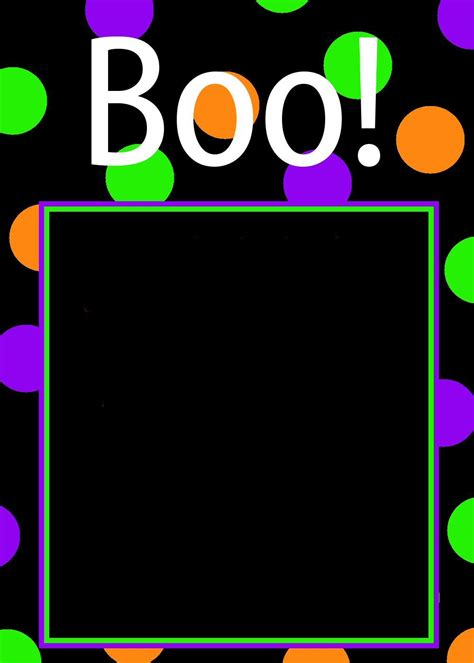 Blank Halloween Party Invitations White Gold