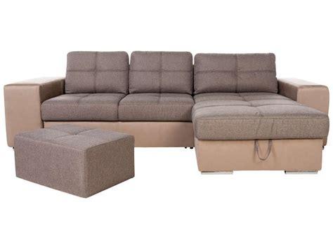 canapé lucca conforama canapé d 39 angle convertible et réversible 4 places en tissu