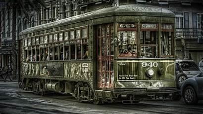 Orleans Streets Photomanipulation Trainway Cities Wallpapers Wallpapersafari