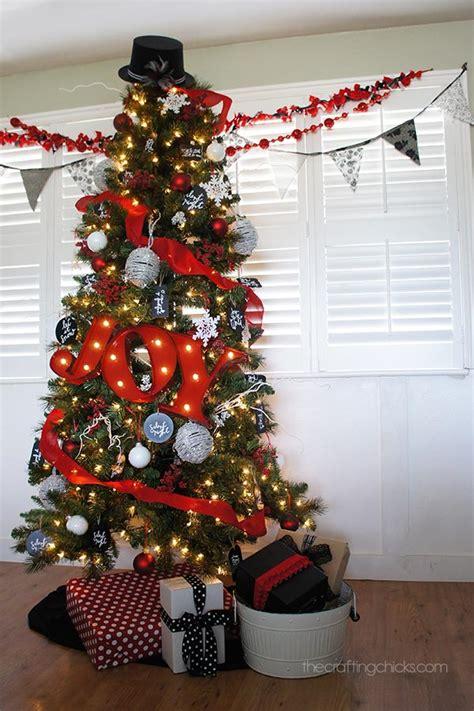christmas tree red white 15 amazing tree ideas pretty my