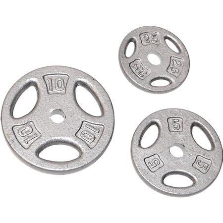 cap barbell  hole weight lifting plate single walmartcom