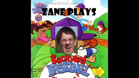 backyard baseball 1997 zane plays backyard baseball 1997 episode 1