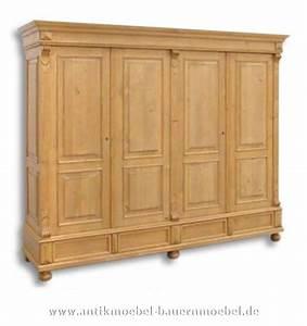 Kleiderschrank Nussbaum Massiv : kls 71 ms kleiderschrank dielenschrank massivholz landhausstil ~ Markanthonyermac.com Haus und Dekorationen