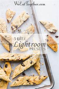 5 Free Lightroom Presets For Food Photographers - We Eat Together