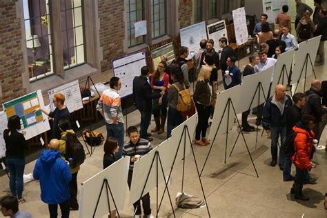 eScience Institute - Data Science Poster Session Draws Crowds