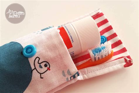cuisine maman réalisez votre étui de brosse à dents pour les voyages