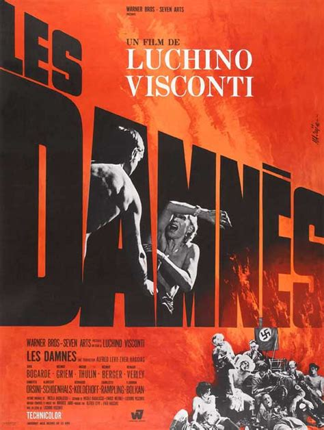 luchino viscontis  damned  posters