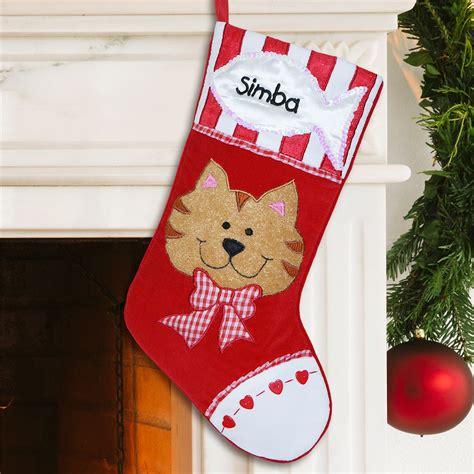 Christmas Pet Photo Cat Stocking Insert