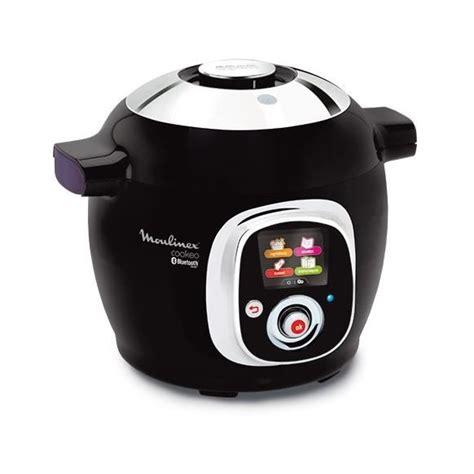 de cuisine multifonction pas cher moulinex multicuiseur intelligent cookeo connect noir 6l