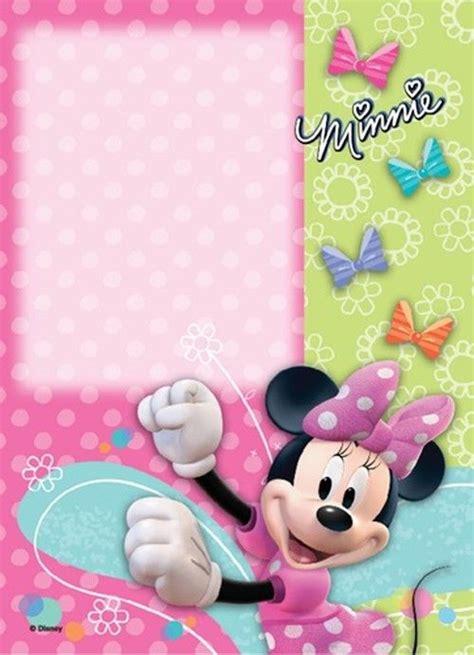 cute minnie mouse invitation template minnie mouse