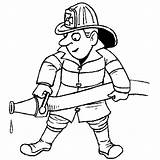 Coloring Pages Community Firefighter Fire Fighter Sheet Sheets Printable Workers Balagtas Donna Posted Am Printables sketch template