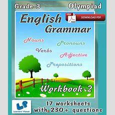 Grade3olympiadenglishgrammarworkbook2 (ebooks, Downloadable Pdf) By Learners Planet Buy