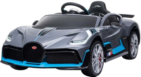 Our car experts choose every product we feature. AWESOME 12V Licensed Kids Electric Bugatti Divo - Grey