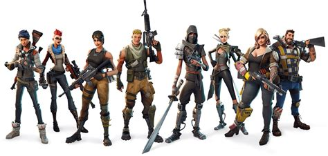 Download Fortnite all classes Group picture PNG Image for ...