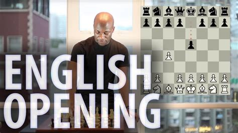 Chess openings - English Opening - YouTube