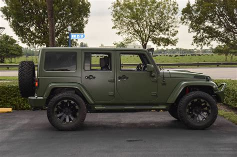 matte black jeep 2016 matte green jeep pictures to pin on pinterest pinsdaddy