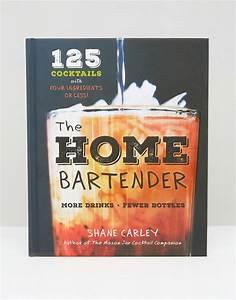 the home bartender cocktail book asos