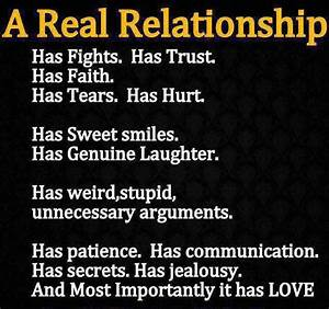 A Real Relationship | Journey Into Me