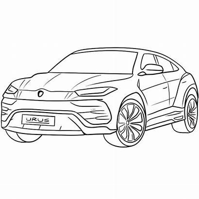 Lamborghini Coloring Urus