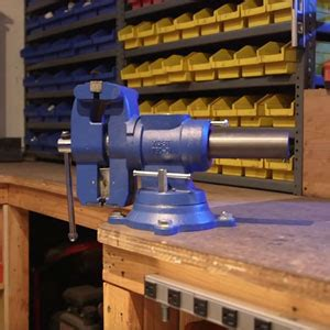 mount  bench vise  steps   minutes