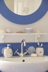 Déco Salle De Bains : id es de d co de salle de bain en style marin ~ Melissatoandfro.com Idées de Décoration
