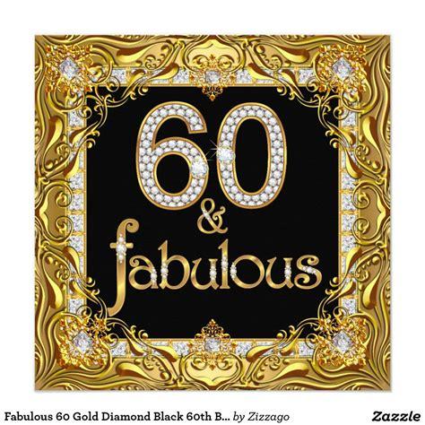 fabulous  gold diamond black  birthday party
