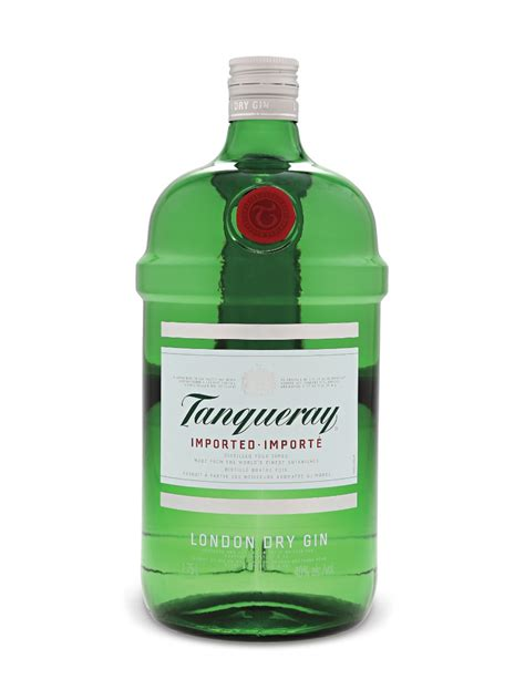 gin green bottle tanqueray dry gin lcbo