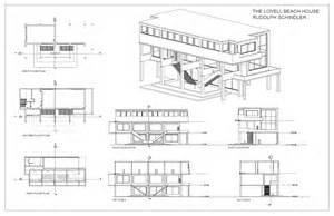 create house floor plans free lovell house study