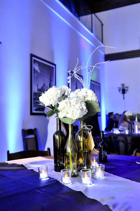 PartyZone Productions Wine bottle centerpieces with