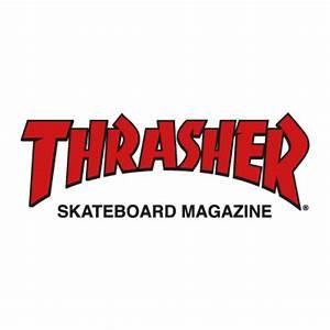 Thrasher Magazine vector logo - Thrasher Magazine logo ...
