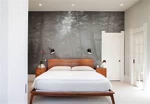 Fototapete Für Schlafzimmer : fototapete wald grau schlafzimmer ~ Sanjose-hotels-ca.com Haus und Dekorationen