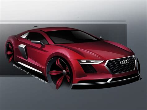 2015 Audi R8 by Revised 2015 Audi R8 Envisioned Gtspirit
